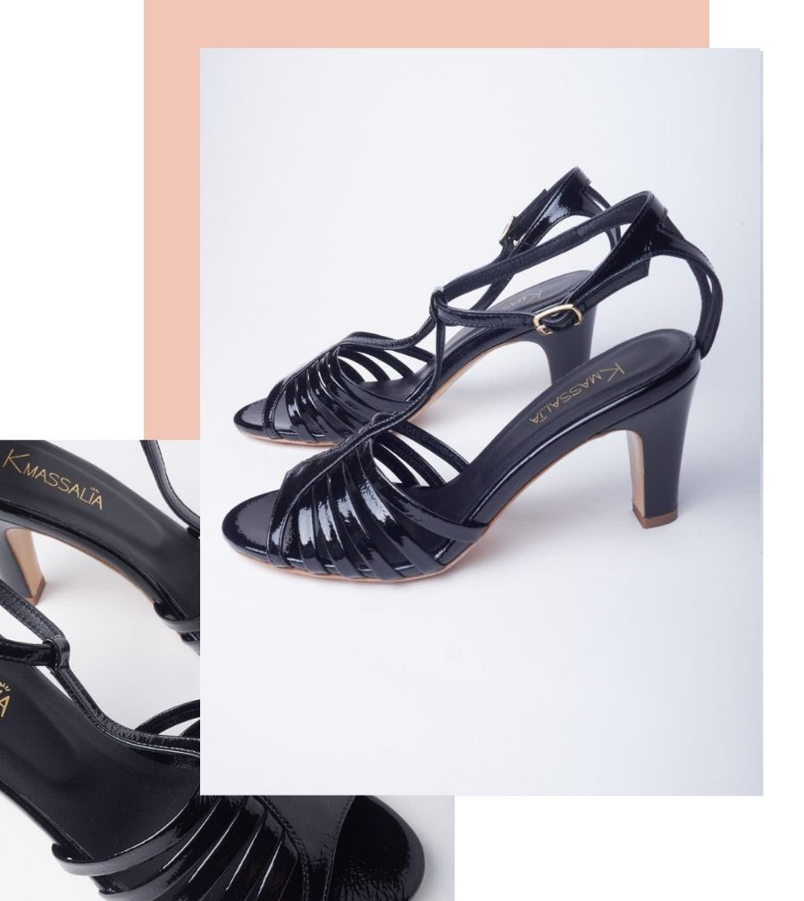 Marylin camel chaussures de créateur